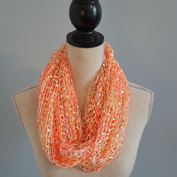 Eyelash Yarn Orange